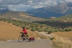 Steph-on-bike
